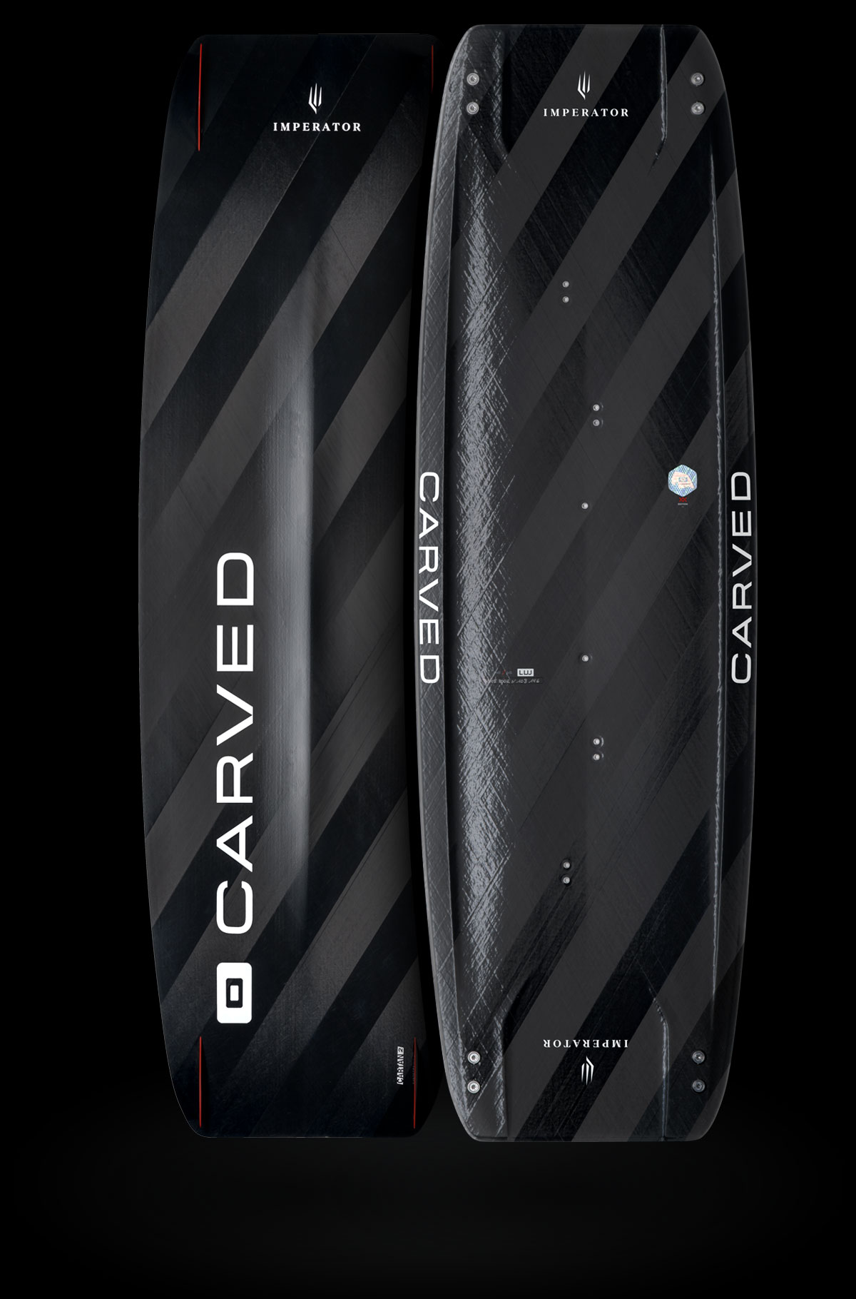 Carved Imperator 7 LW 146x45 Carbon Kite Board